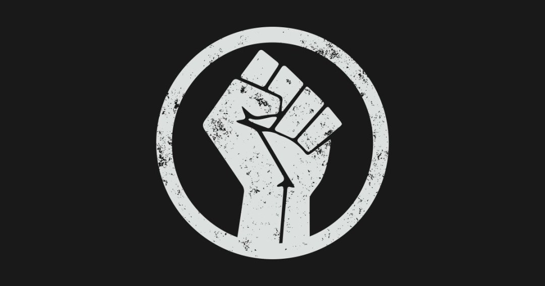 Black Power Fist 18