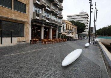 Nowe ławki w Nikozji