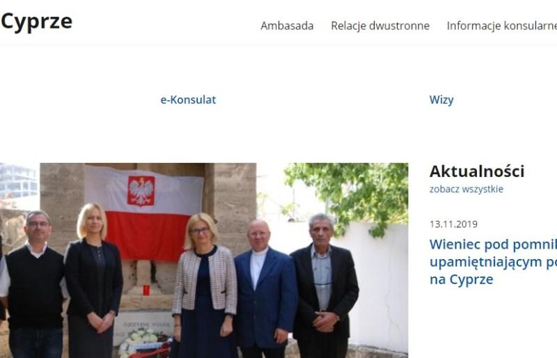 Nowa strona Ambasady w Nikozji