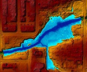Floodplain modeling for restoration planning