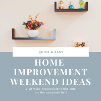 3 Quick Weekend Home Improvement Projects That Won't Break The Bank