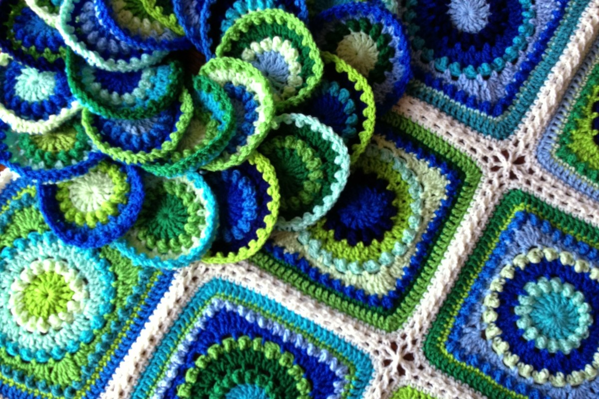 Crochet Blanket Color Combination Party!