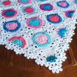 Candy Puffs Crochet Blanket Pattern