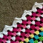 Crochet Blanket Border: Meringe Edging Tutorial