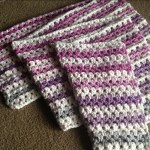 Zipper Stripe Blanket