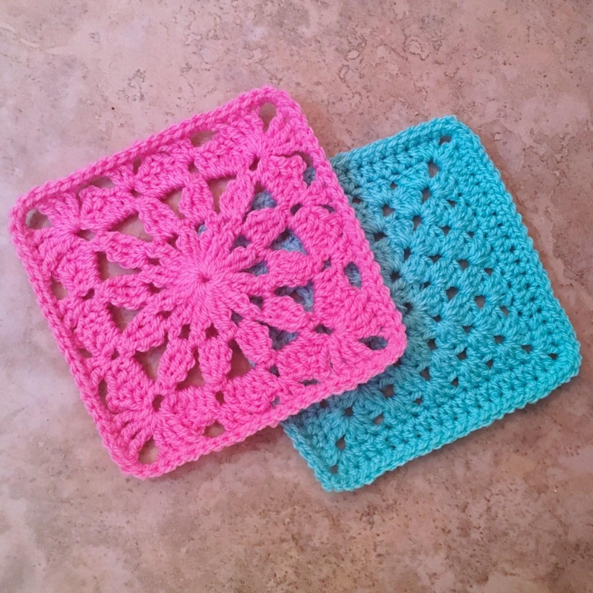 Crochet Motif - Ana Maria Square