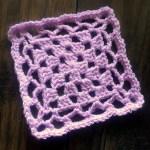 Crochet Motif – Faye Square