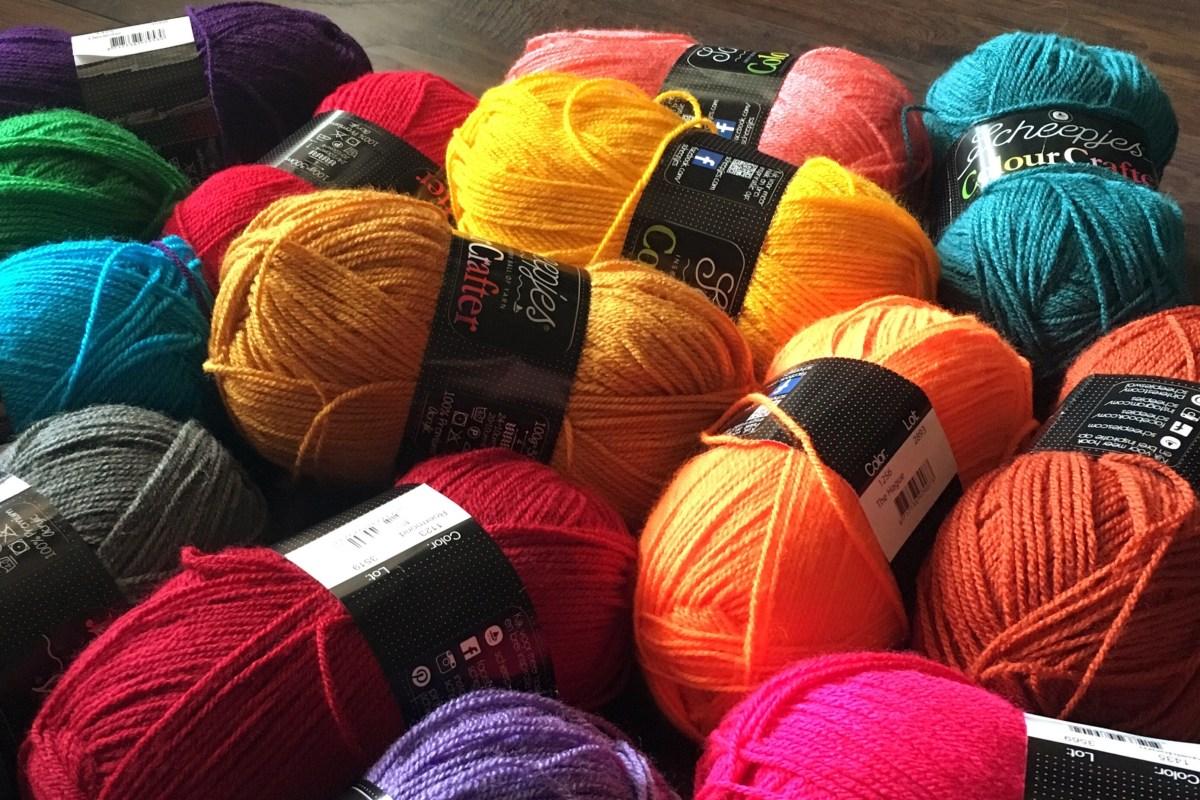 Scheepjes Colour Crafter: A yarn stash staple.