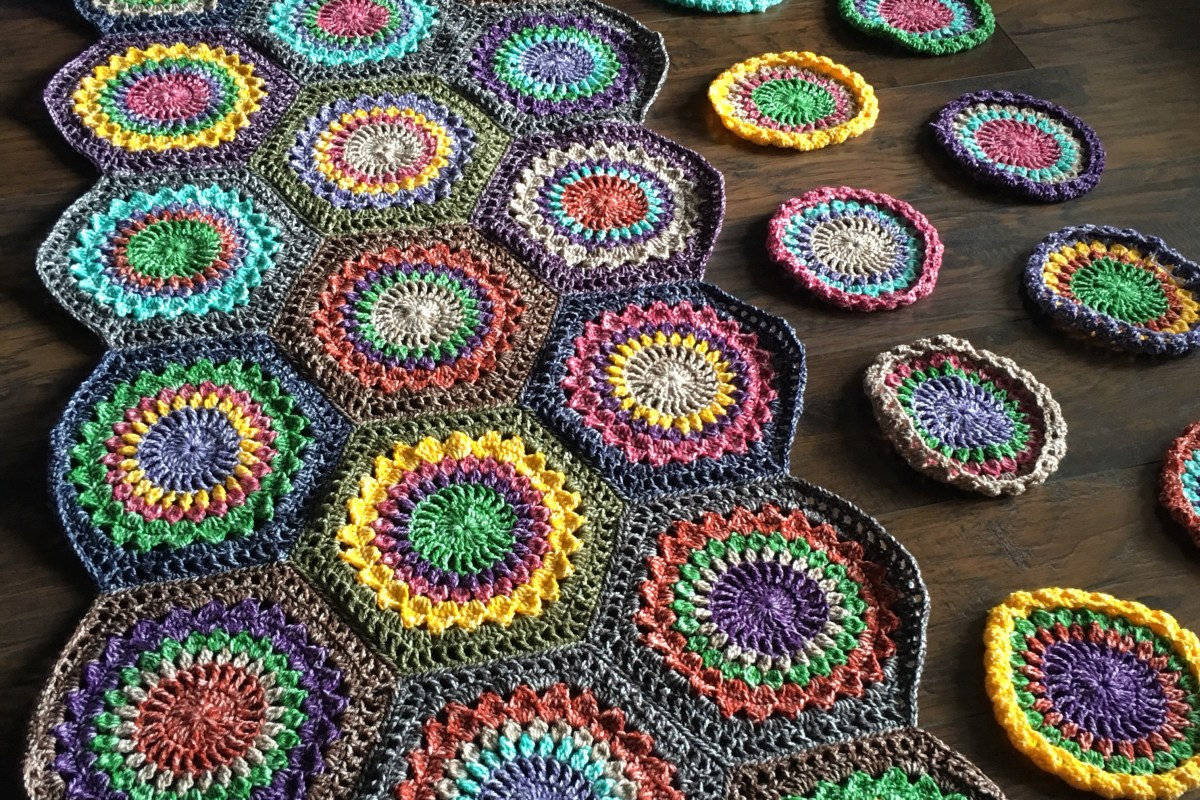Hexagon Burst: Free Pattern