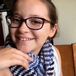 Rebecca Möbius Scarf Free Pattern