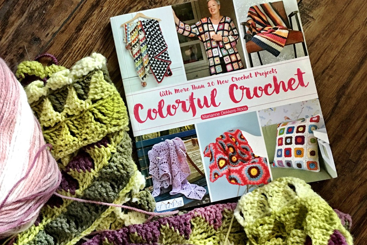 Colorful Crochet: Finally, a blanket for ME!