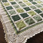 VVCAL blanket in green palette – A very green post :)