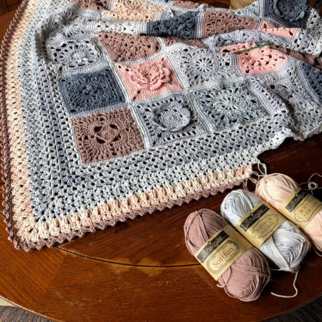 Vibrant Vintage Crochet Blanket Reboot - Main Info Page