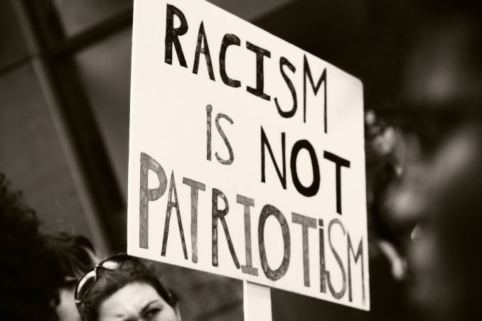 Image result for racism is not patriotism