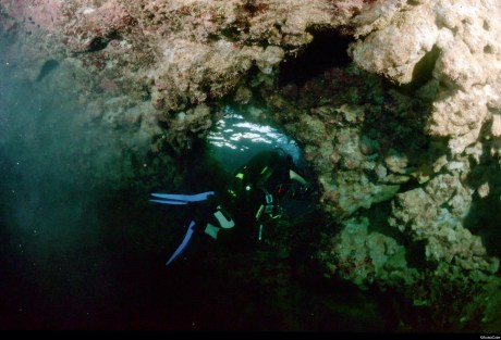 Amphorae Caves Diving Site