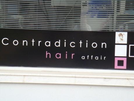 Contradiction Hair Affair
