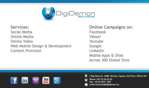 Digidemon Services Ltd.
