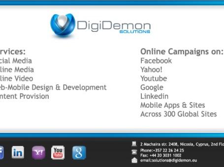 Digidemon Services Ltd.