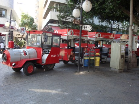 Ledras Square Tourist Train