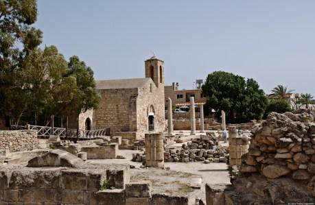 Pafos St Pauls Pillar Panagia Chrysopolitissa Church