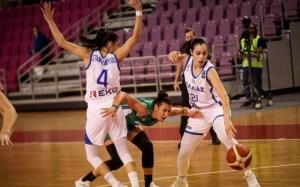 Ο Fasula և Kristinak στάλθηκε στο Ευρωμπάσκετ με μπλε και άσπρο.