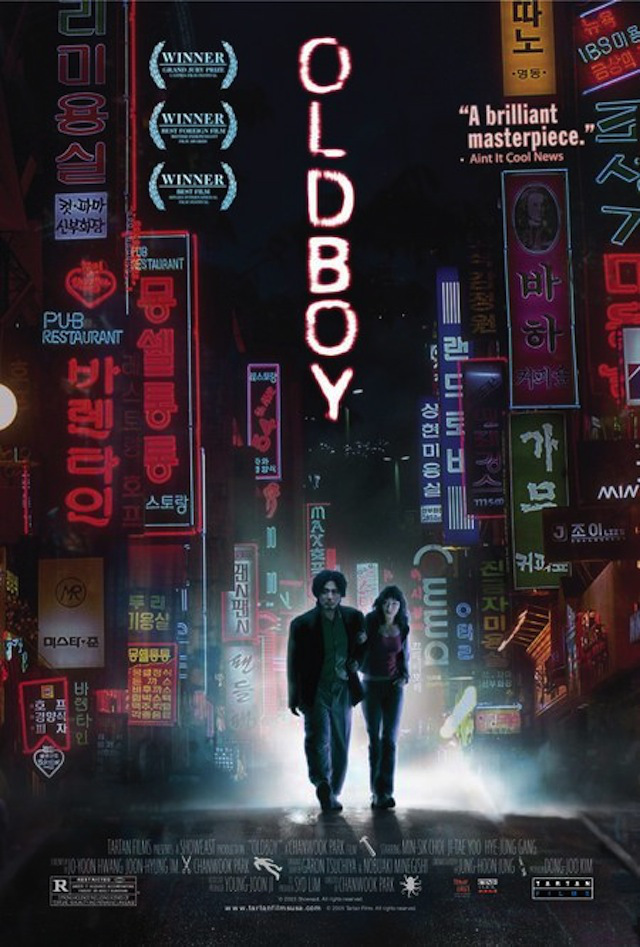 "Popular Korean film, ""Oldboy"" (2003)"
