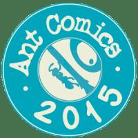 ant comics sticker