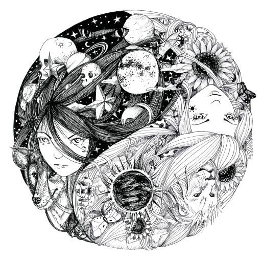 yin yang c
