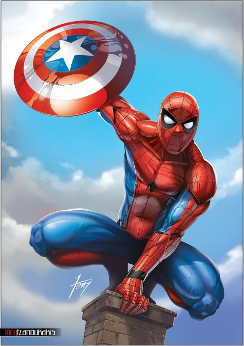 spiderman___homecoming_by_tony_tzanoukakis-db2ptuv