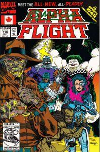 Alpha Flight: Issue #110