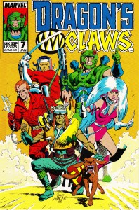 Dragon's Claws: Issue #7