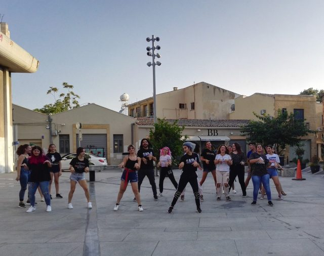 Random K-pop Dance Challenge in Nicosia