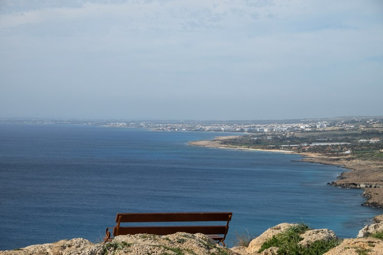 View to Ayia Napa from Cape Greco
