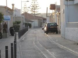 Andy from the Ouzerakin in Erimi village main street