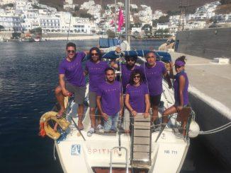 To ξεχωριστό πλήρωμα της Αegean Regatta