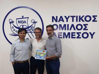 ΝΟΛ: υποδέχτηκε τον επίτιμο πρόξενο της Κύπρου στην Σικελία