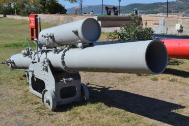 Torpedo projector of the Gallipoli period