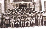 4 Cyprus Regiment parade photo .1942
