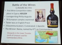 Battle of the Wines
