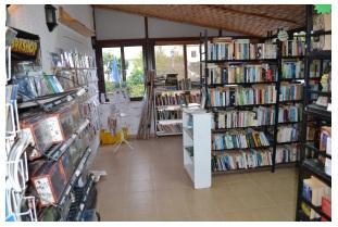 Bookshelves to browse through