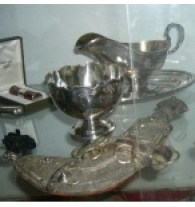 Silverware at the Auction House