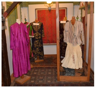Some of the clothes of days gone by