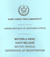TRNC Vehicle Log Book