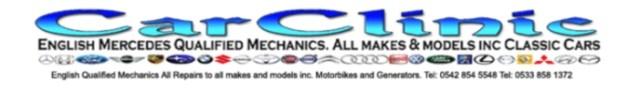 Car Clinic logo banner