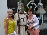 Walking with the Knight Templar for Tulips