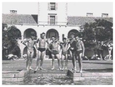 Time for a dip in the Govenors swimming pool