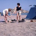 Cyprus, camping (Golden Beach)