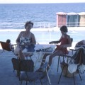 Cyprus, Rock Ruby Hotel 1962 Joan & Carrie