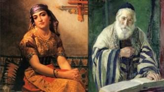 Hebrew man and woman