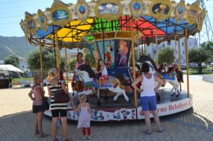 All the fun of the Merry-go-Round